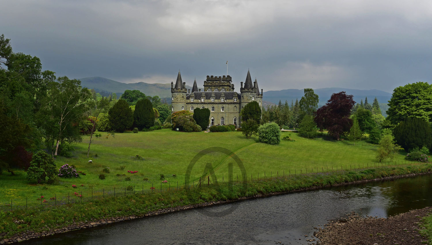 <i>Inveraray Castle, Scotland (UK)<i>