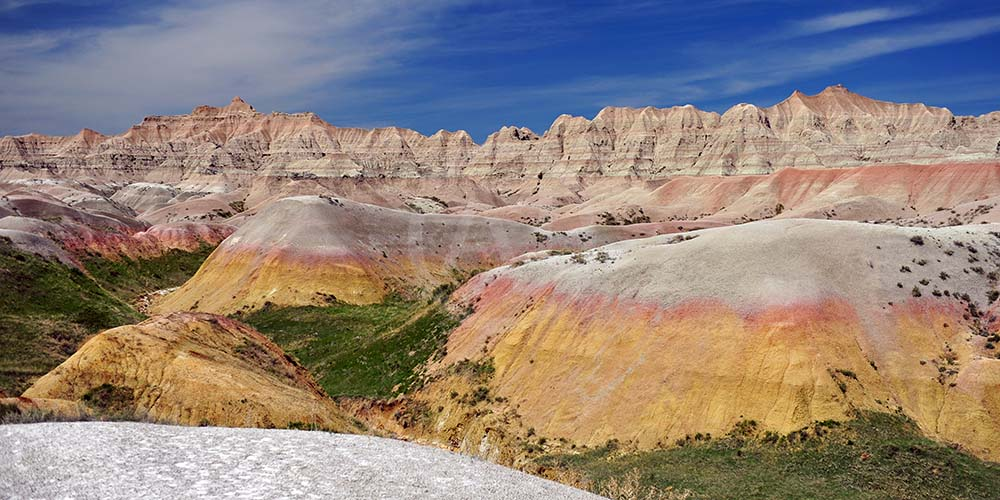 <i>Badlands National Park, South Dakota (USA)<i>