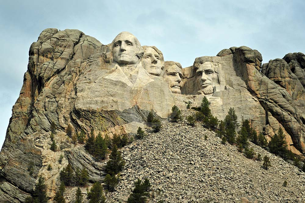 <i>Mount Rushmore, South Dakota (USA)</i>