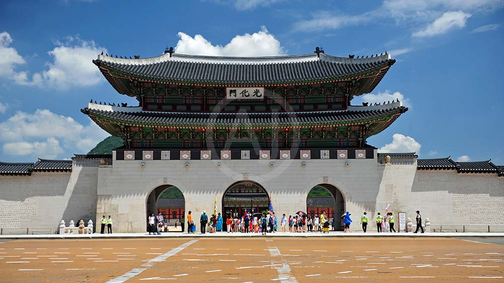 <i>Gyeongbokgung Palace, Seoul (South Korea)</i>