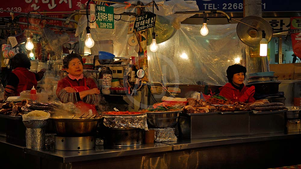 <i>Gwangjang, Market, Seoul (South Korea)<i>