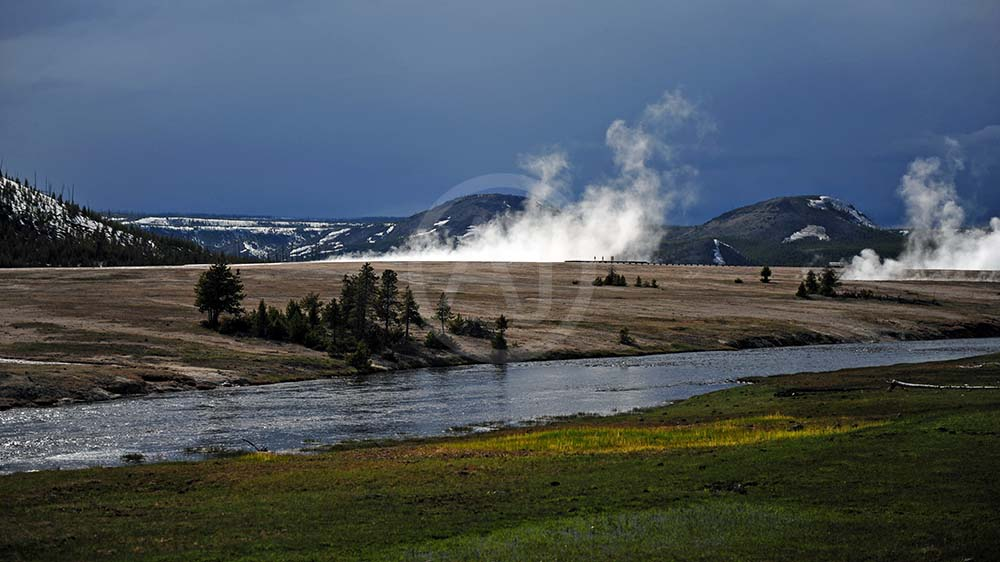 <i>Yellowstone National Park, Wyoming (USA)<i>